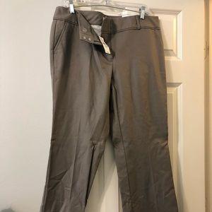 Dark khaki loft trousers